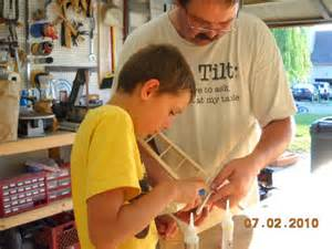 father son making project