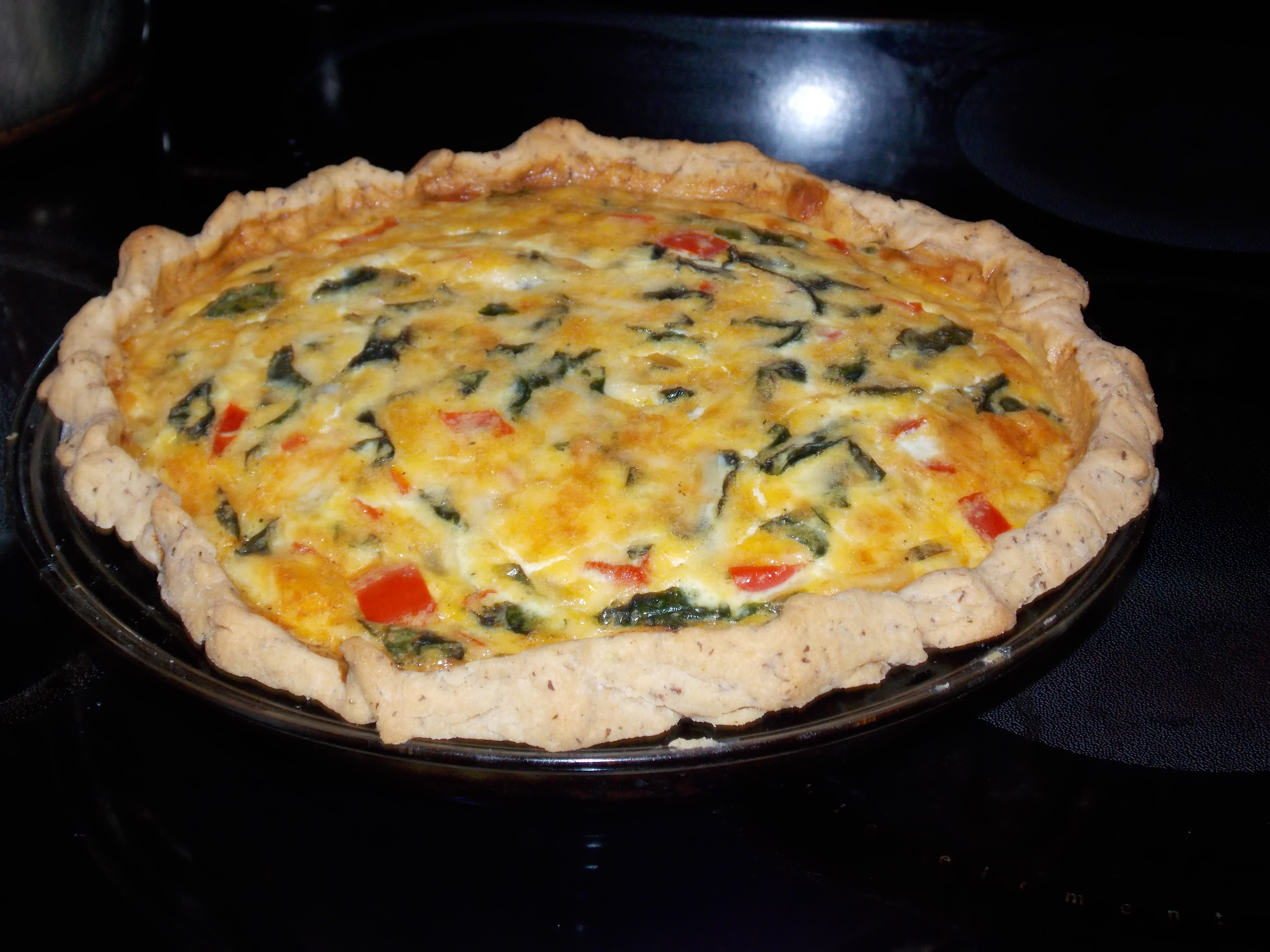 Finally a gluten free pie crust that really works for Quiche not setting