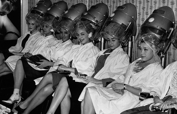 Hair salon 1960s