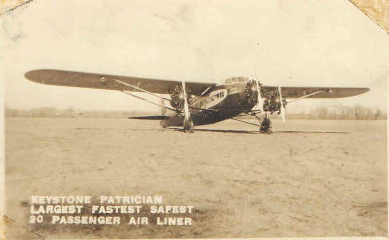 Keystone Patrician Airplane