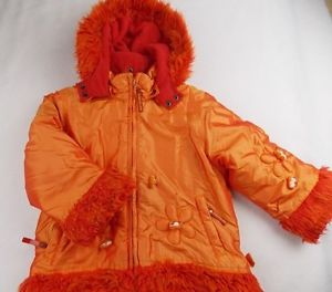 Ugly orange coat.