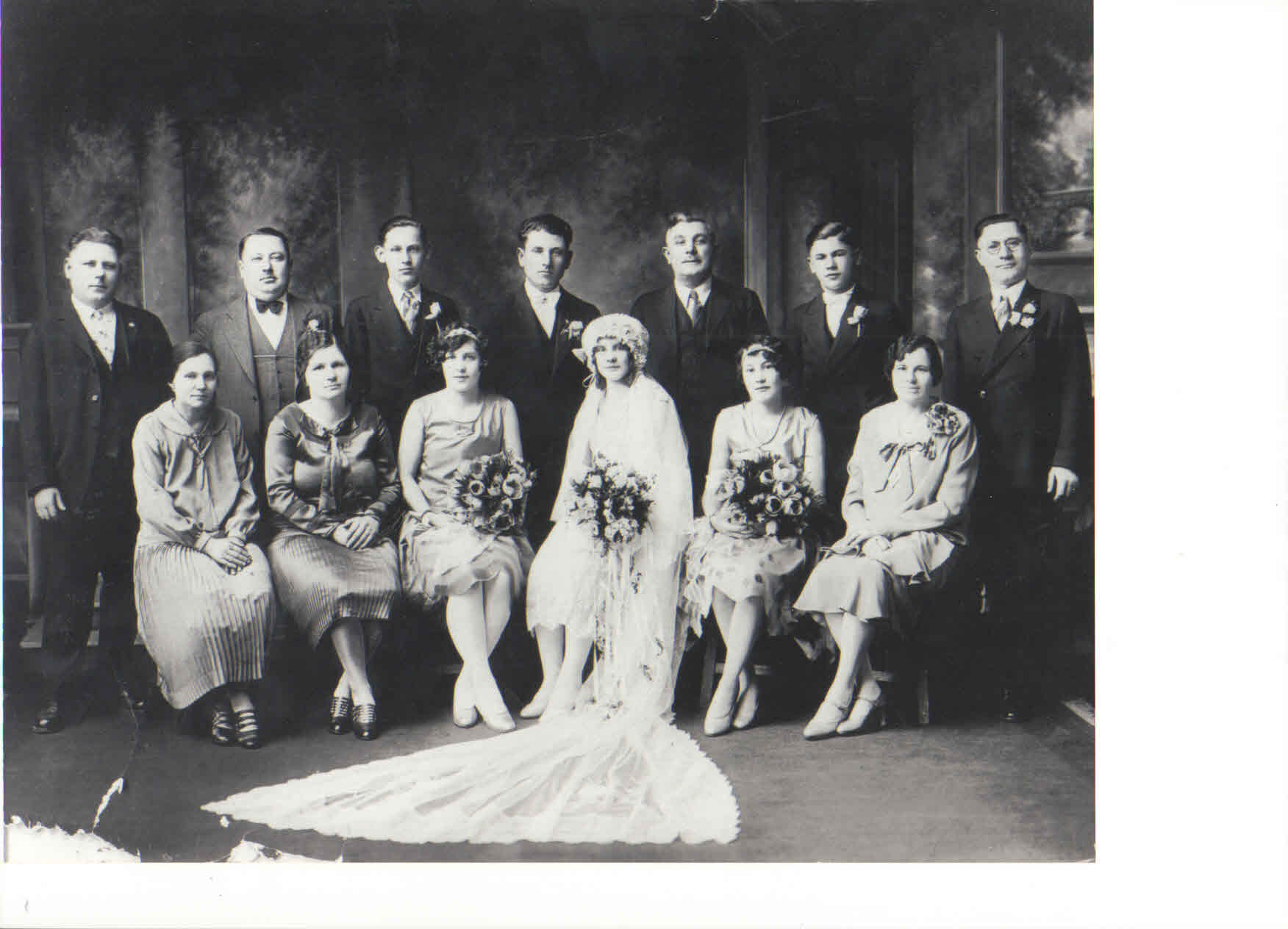 My grandparents wedding, Feb. 16, 1929.